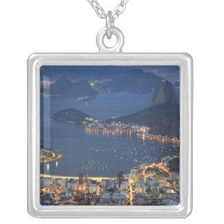 Rio de Janeiro, Brazil Silver Plated Necklace