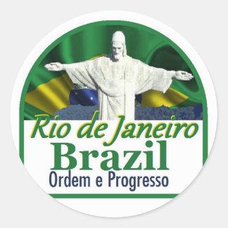 Rio de Janeiro Brazil Sticker
