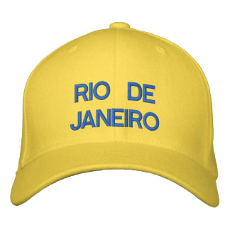 Rio de Janeiro Cap Embroidered Hats