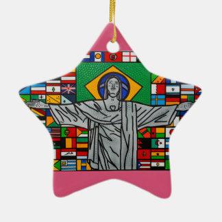 Rio de janeiro christmas ornament