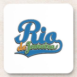 Rio de Janeiro Drink Coaster