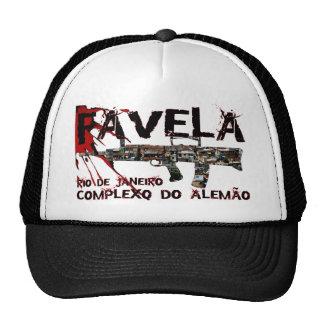 Rio de Janeiro Favela Slum Shanty Town Mesh Hats