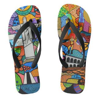 Rio de Janeiro Flip Flops