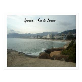 Rio De Janeiro - Ipanema Postcard