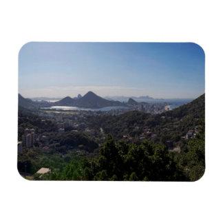 Rio De Janeiro South Zone Rectangular Photo Magnet