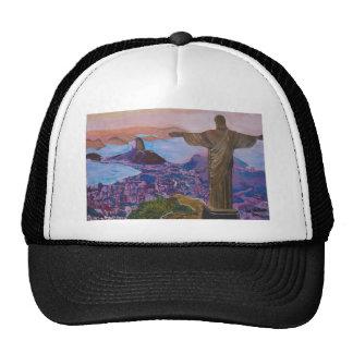 Rio De Janeiro With Christ The Redeemer Cap
