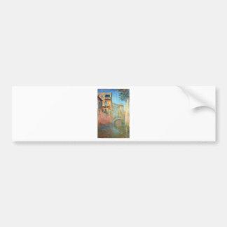 Rio della Salute 03 by Claude Monet Bumper Sticker