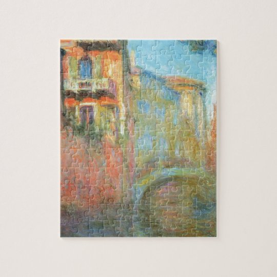 Rio della Salute 03 by Claude Monet Jigsaw