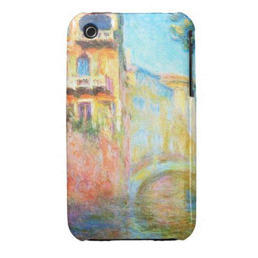 Rio della Salute  Claude Monet Case-Mate iPhone 3 Cases