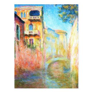 Rio della Salute  Claude Monet Postcard