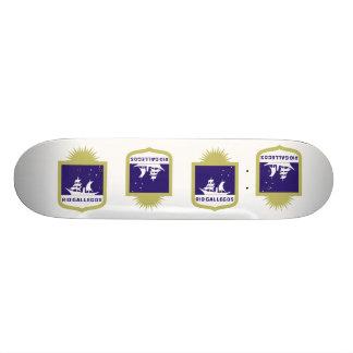 Rio Gallegos, Argentina Custom Skate Board