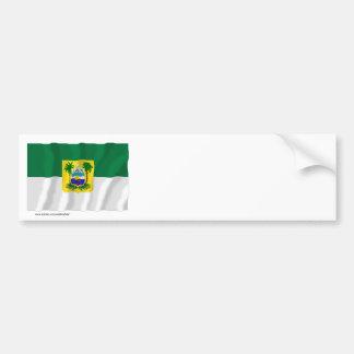 Rio Grande do Norte, Brazil Waving Flag Bumper Sticker