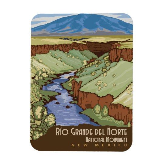 Rio Grande Rectangular Photo Magnet