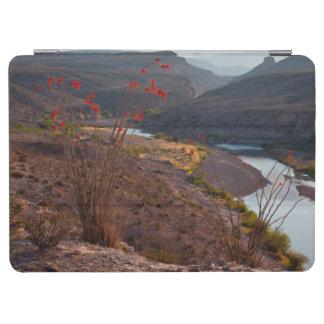Rio Grande Running Through Chihuahuan Desert iPad Air Cover