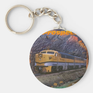 Rio Grande's Prospector in the Royal Gorge Basic Round Button Key Ring