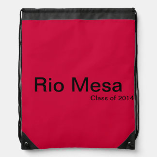 Rio Mesa Class of 2014 Rucksacks