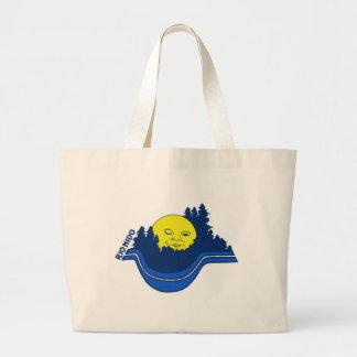 Rio Nido logo Large Tote Bag