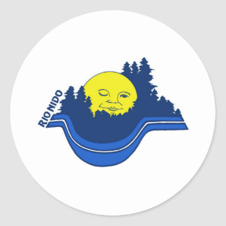 Rio Nido logo Round Sticker