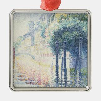 Rio San Trovaso, Venice, 1903-4 Christmas Ornament
