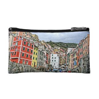 Riomaggiore, Italy Cosmetics Bag Makeup Bags