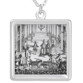 Riot at Covent Garden Silver Plated Necklace