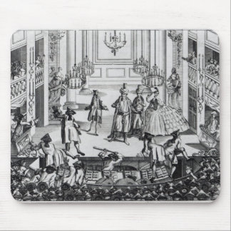 Riot at Covent Garden Theatre in 1763 Mouse Mat