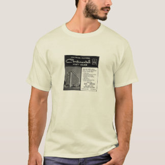 Riot House - Continental Hyatt House, LA - Advert T-Shirt