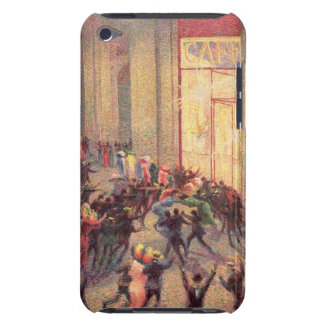 Riot in the Galleria, 1909 (oil on canvas) iPod Touch Cover