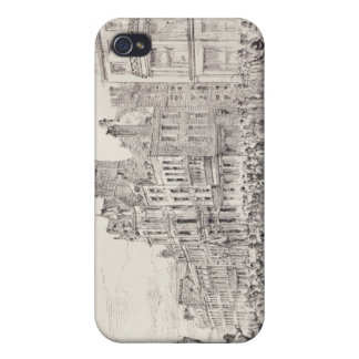 Riots in the West End of London iPhone 4 Case