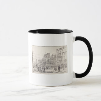 Riots in the West End of London Mug