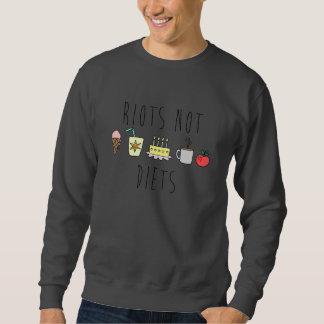 Riots Not Diets Crewneck Sweatshirt
