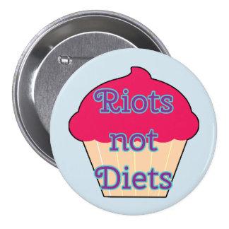 Riots Not Diets, Feminist button