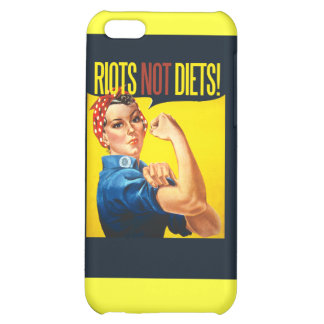 RIOTS not DIETS Cover For iPhone 5C