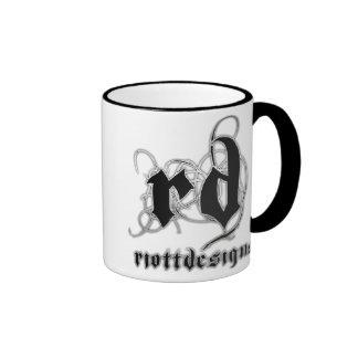 Riott Designs Logo Ringer Mug
