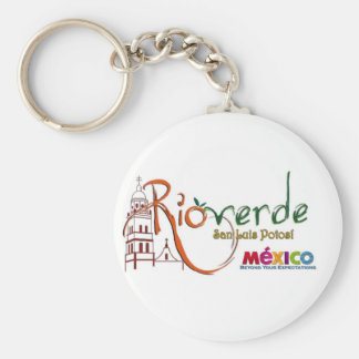 Rioverde SLP Items Basic Round Button Key Ring
