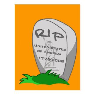 RIP America Postcard