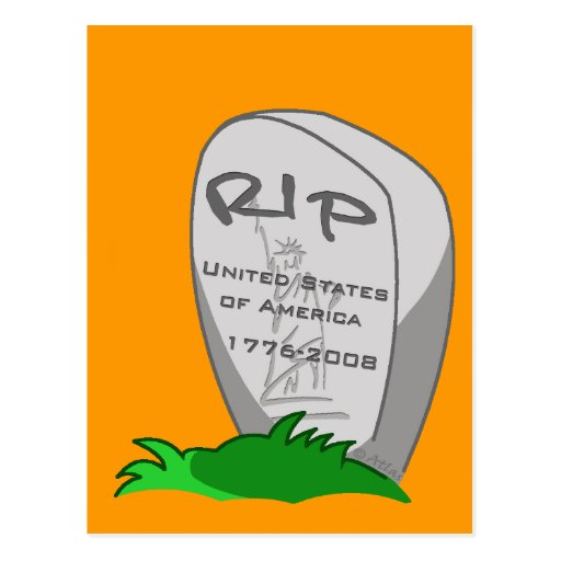 RIP America Post Cards