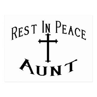RIP Aunt Postcard