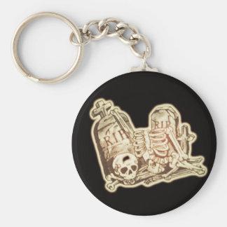 rip basic round button key ring
