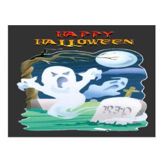 RIP Ghosts Postcard