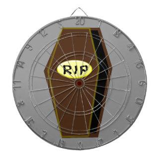 RIP Halloween Coffin of Doom Dart Board