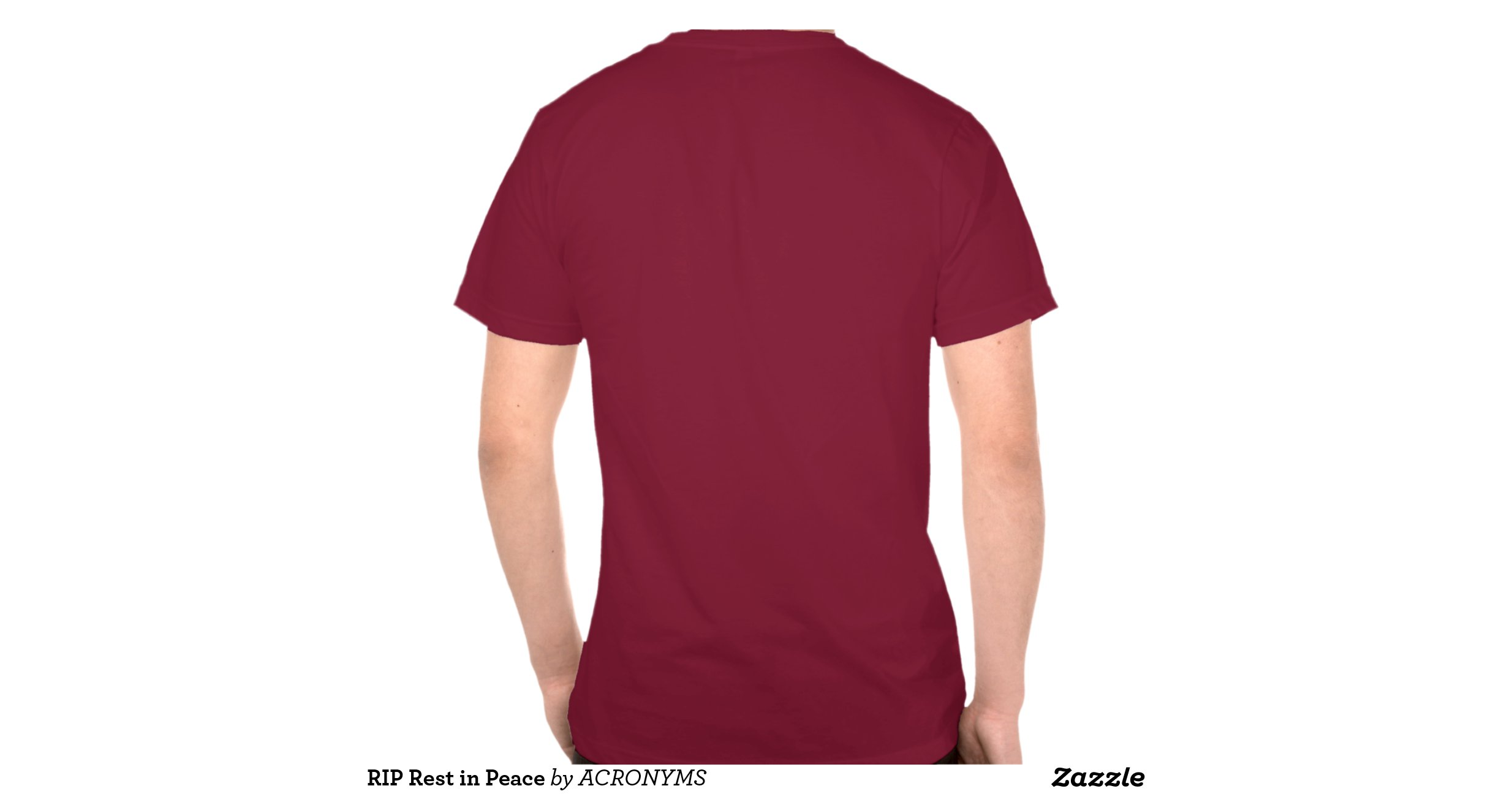 Rip Rest In Peace Tee Shirt Zazzle
