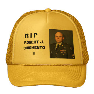 RIP Robert J. Chiomento II Cap