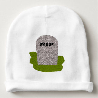 RIP Tombstone Baby Beanie Hat