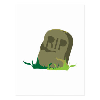 RIP Tombstone Post Cards
