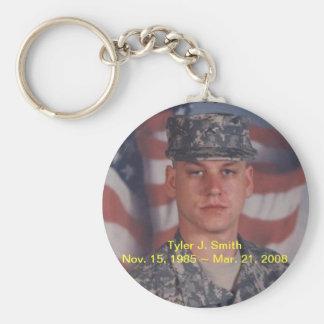 RIP Tyler J. Smith Key Ring