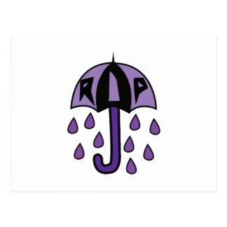 RIP Umbrella Postcard