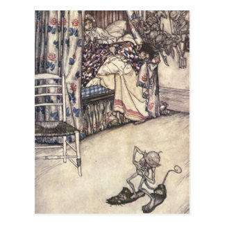 Rip Van Winkle: The Virtues Of Patience Postcard