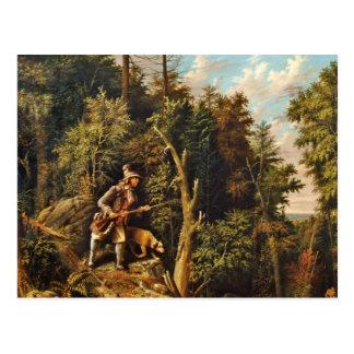 Rip Van Winkle with His Hound Postcard