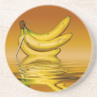 Ripe Yellow Bananas Coaster